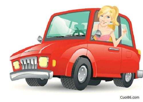 Chuyện cười khi phụ nữ học lái xe