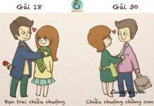 Sự khác biệt ở những cô gái